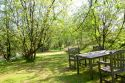 Picnic area by our lake