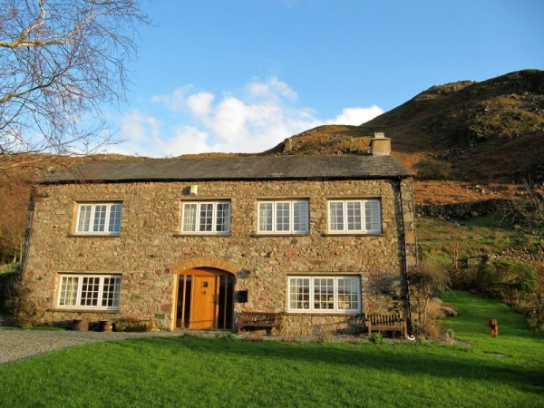 Brantrake house 4 bedroom cottage in the lake district - Luxury cottages lake district swimming pool ...