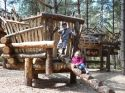 Moors Valley Country Park - one of many climbing structures