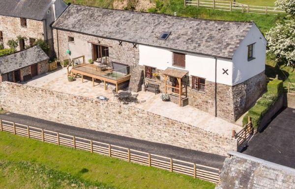 Bartridge Farm Holiday Cottage In Devon Sleeps 5 Hot Tub Wifi Pool