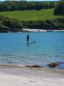 Paddle board from the cottage to the lovely Celler Beach, just around the corner