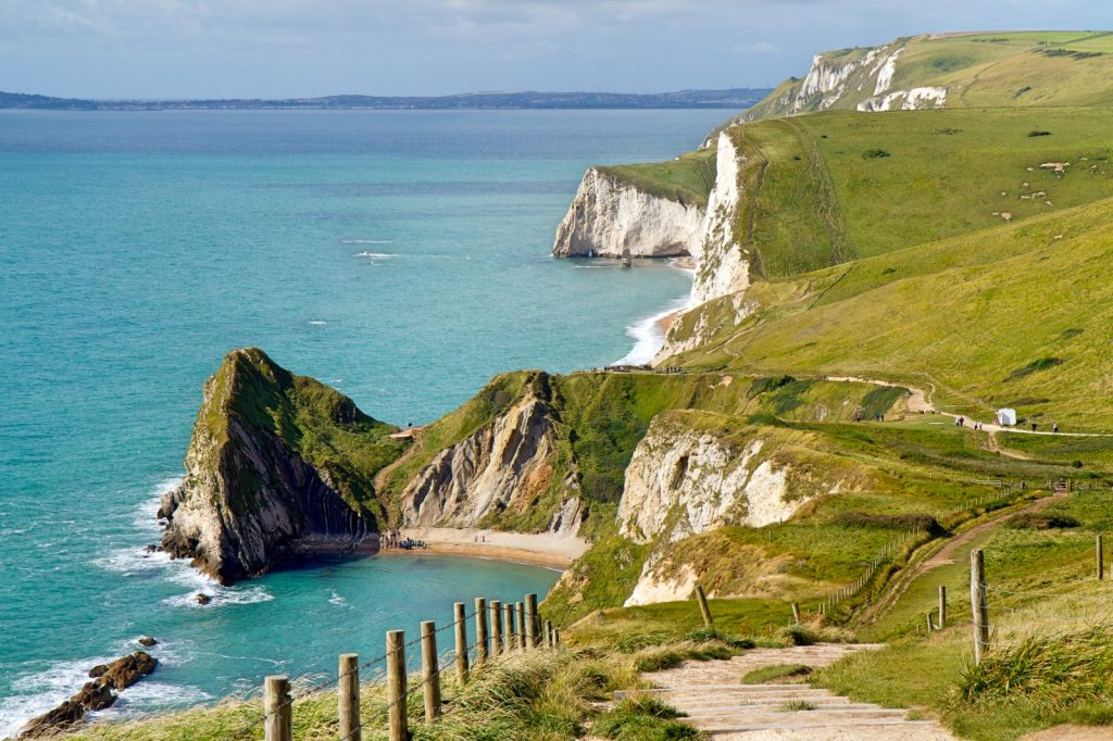 The South West Coastal Path spans some 630 miles, explore Dorset's beautiful section