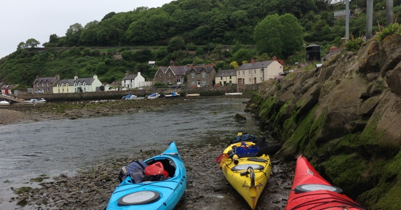 Kayaks at Fishguard