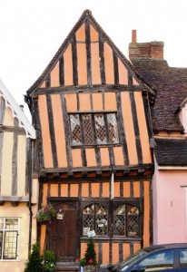 Crooked timber house